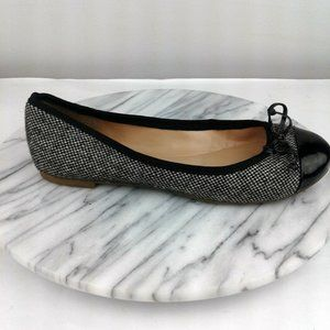 Banana Republic Alana Black Tweed Ballet Flats